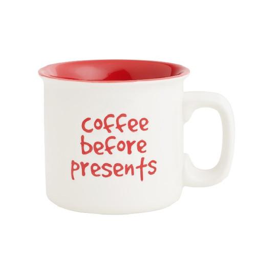Coffee Before Presents Mug