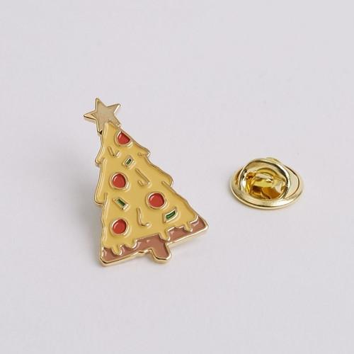 Pizza Tree Enamel Pin