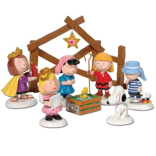 Peanuts Nativity Pageant