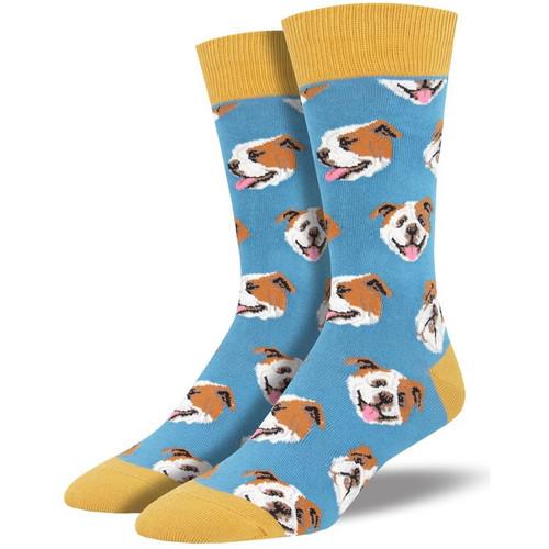 Incredibull Men's Crew Socks