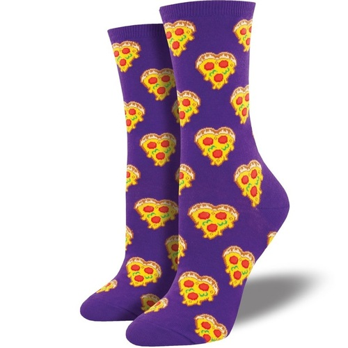 Love You To Pizzas Women's Crew Socks