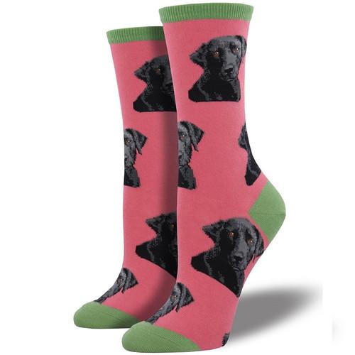 Lab-Or of Love Women's Crew Socks