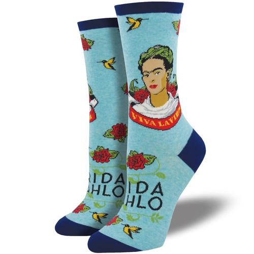 Viva La Frida Women's Crew Socks