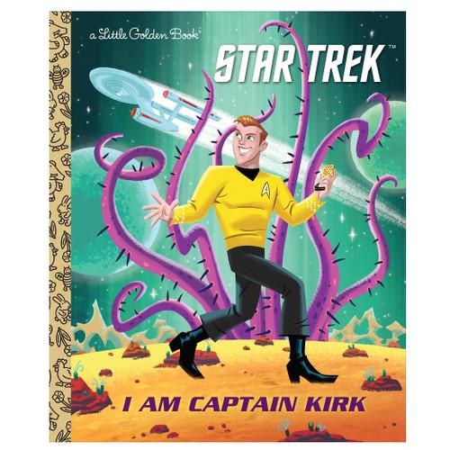 I am Captain Kirk  Little Golden Book
