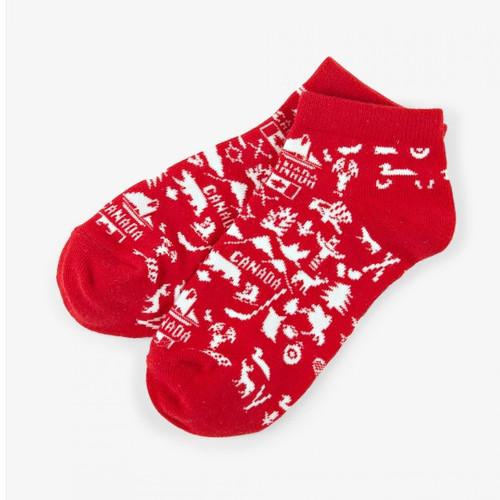 Oh Canada Women's Ankle Socks by Hatley
