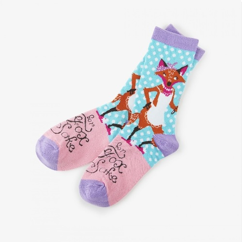 For Fox Sake Women's Crew Socks by Hatley