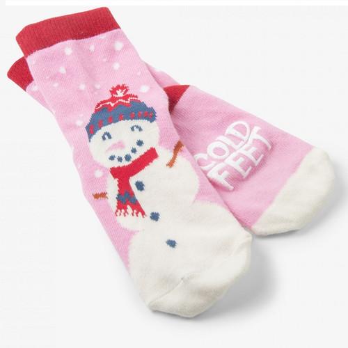 Kids Cold Feet Socks by Hatley - Pink