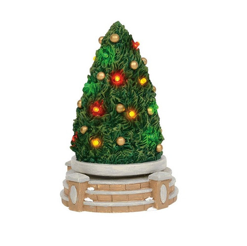 Department 56 Village Accessories Lit Rotating Festive Tree