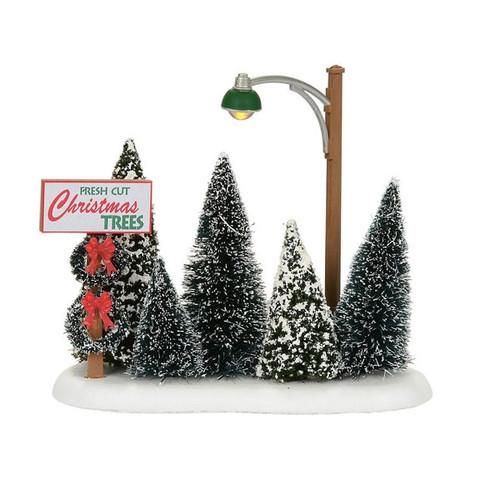 Lit Department 56 Christmas Tree Lot
