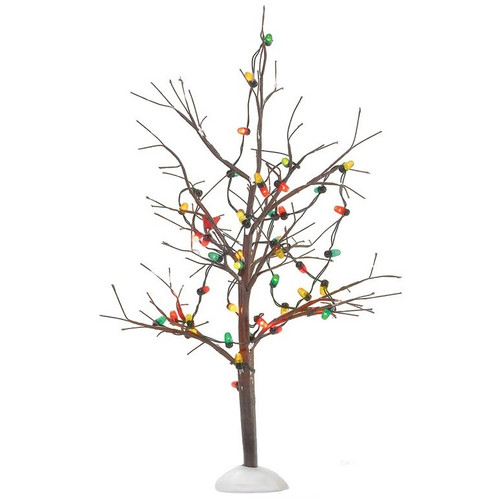 Department 56 Village Lighted Bare Branch Tree Accessory
