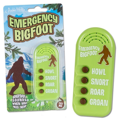 Emergency Bigfoot