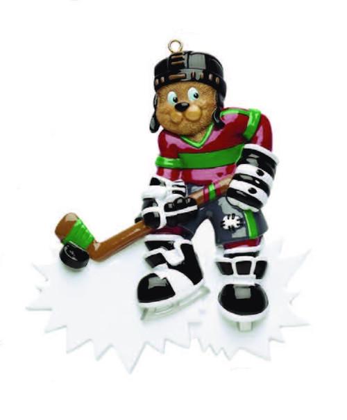 Hockey Personalized Ornament