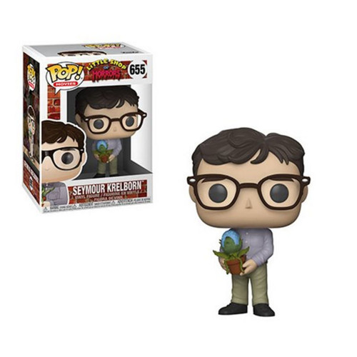 Little Shop of Horrors Seymour with Audrey II Pop! Vinyl Figure, with box