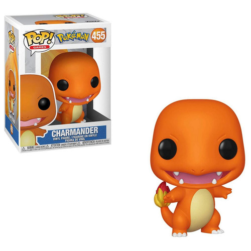 Funko Pop! Games: Pokemon - Charmander with box 37603