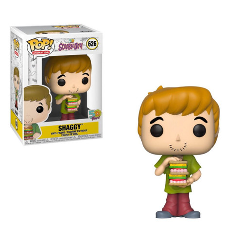 Shaggy with Sandwich Scooby Doo POP! Animation Vinyl Figure by Funko, with box 39949