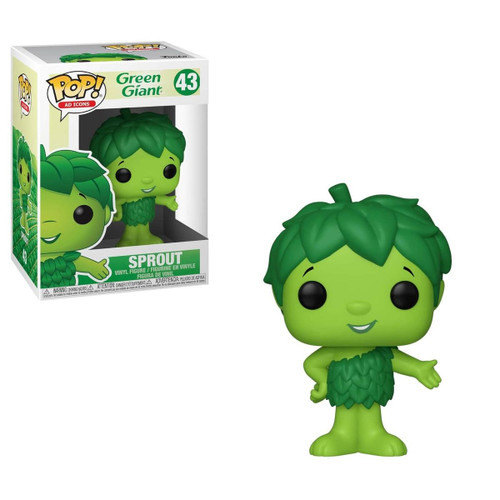 Green Giant Sprout POP! Ad Icons Vinyl Pop! Figure by Funko, 39599