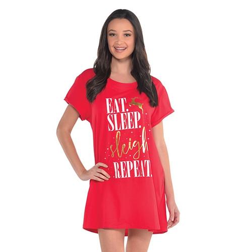 Sleigh All Day Night Shirt