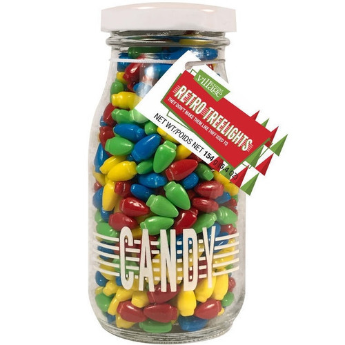 Retro Candy in Bottle: Tree Lights