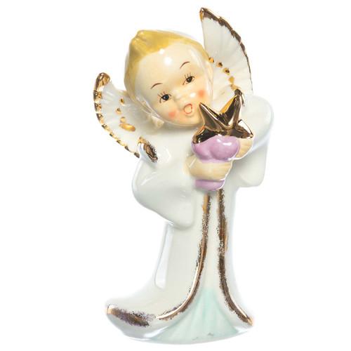 Retro Porcelain Angel, front view