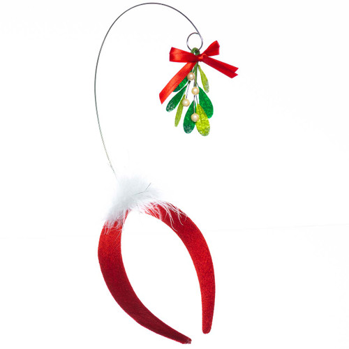 Kiss Me Under the Mistletoe Headband