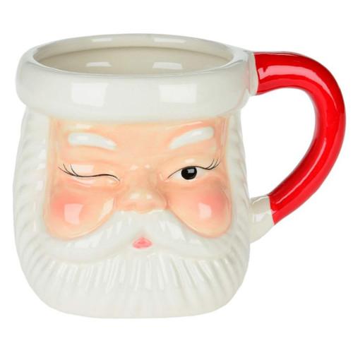 Retro Santa Ceramic Mug