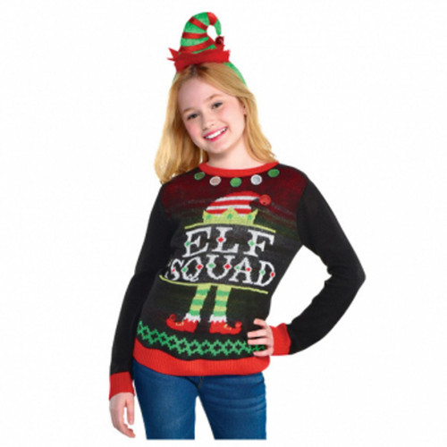 Elf Squad Ugly Sweater