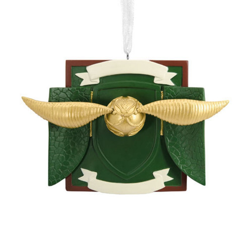 Harry Potter Snitch Personalized Ornament by Hallmark