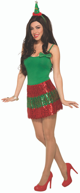 Sequin Christmas Skirt