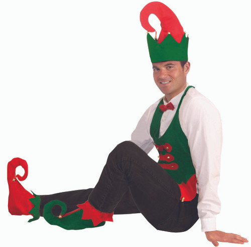 Elf Hat and Shoes