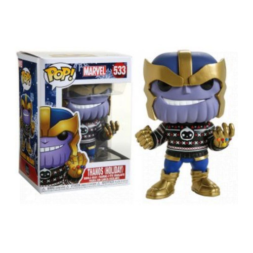 Ugly Sweater Thanos funko pop