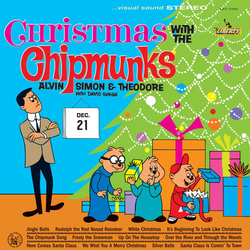 Christmas with the Chipmunks, front