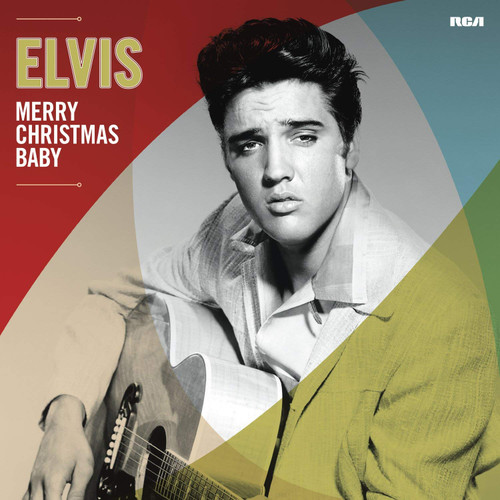 Elvis Merry Christmas Baby, front