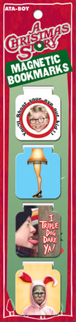 A Christmas Story Magnetic Bookmarks