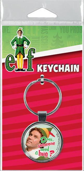 Elf Does Someone Need a Hug Keychain