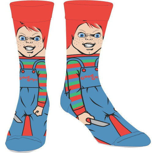 Chucky 360 Image Crew Socks