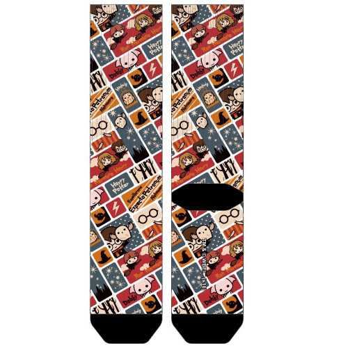 Harry Potter Chibi Sublimated Socks by Bioworld