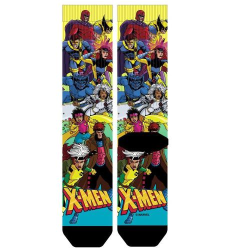 Marvel X-Men Cartoon Characters Sublimated Socks