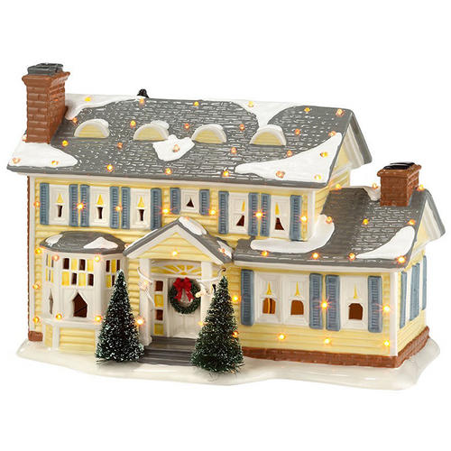 Department 56 Christmas Vacation Snow Village  Griswold House