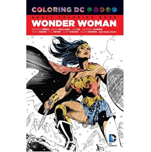 Wonder Woman Colouring Book