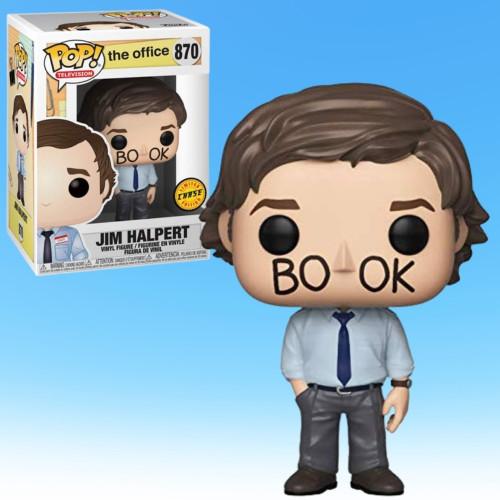 "The Office Jim Halpert ""Facebook"" CHASE Pop! Funko Vinyl Figure"