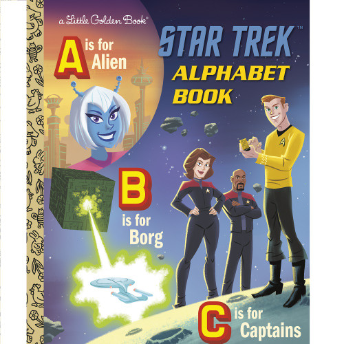 Star Trek Alphabet Book Little Golden Book