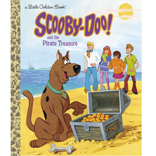 Scooby-Doo and the Pirate Treasure Little Golden Book