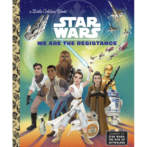 Star Wars We Are The Resistance Little Golden Book