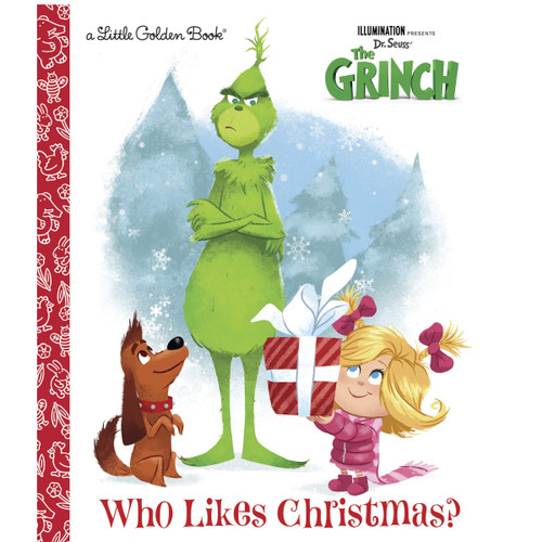 The Grinch Who Likes Christmas? Little Golden Book