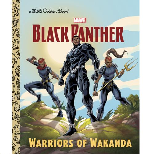 Marvel Black Panther Warriors of Wakanda Little Golden Book