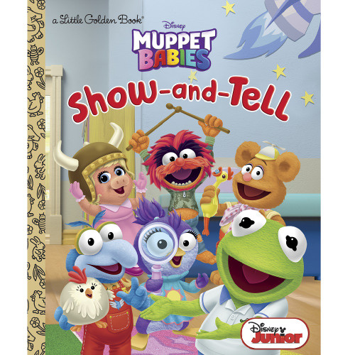 Muppet Babies Show-and-Tell Little Golden Book