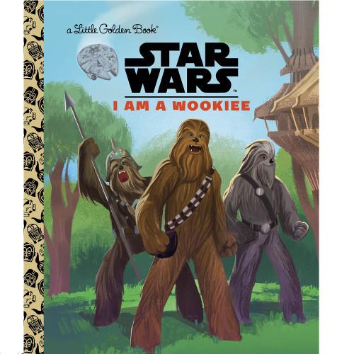 Star Wars I am a Wookiee Little Golden Book