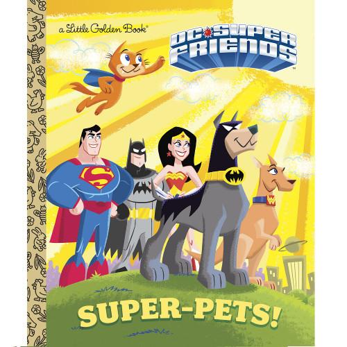 DC Comics Super-Pets Little Golden Book