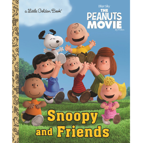 Snoopy and Friends Little Golden Book