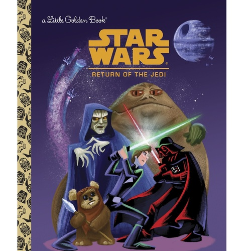 Star Wars Return Of The Jedi Little Golden Book